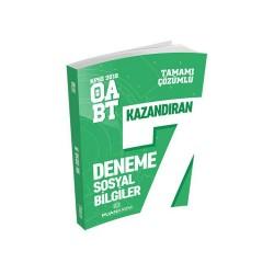Puan Akademi Yayınları - Puan Akademi Yayınları 2018 ÖABT Sosyal Bilgiler Öğretmenliği Tamamı Çözümlü 7 Deneme
