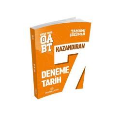 Puan Akademi Yayınları - Puan Akademi Yayınları 2018 ÖABT Tarih Öğretmenliği Tamamı Çözümlü 7 Deneme