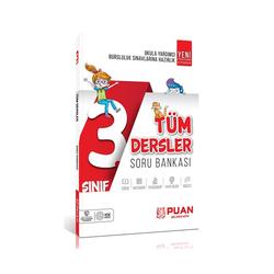 Puan Yayınları - Puan Yayınları 3. Sınıf Tüm Dersler Soru Bankası