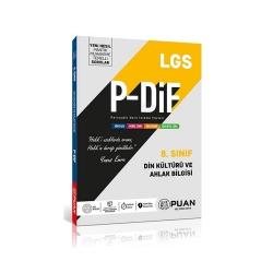 Puan Yayınları - Puan Yayınları 8. Sınıf LGS Din Kültürü ve Ahlak Bilgisi PDİF Konu Anlatım Föyleri