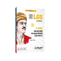 Puan Yayınları - Puan Yayınları 8. Sınıf LGS Din Kültürü ve Ahlak Bilgisi Soru Bankası