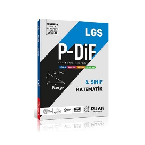 Puan Yayınları 8. Sınıf LGS Matematik PDİF Konu Anlatım Föyleri