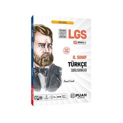 Puan Yayınları - Puan Yayınları 8. Sınıf LGS Türkçe Soru Bankası