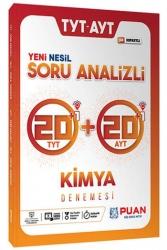 Puan Yayınları - Puan Yayınları TYT AYT Kimya Soru Analizli 42 Deneme