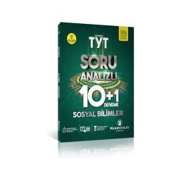 Puan Akademi Yayınları - Puan Yayınları TYT Sosyal Bilimler Soru Analizli 10+1 Deneme