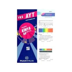 Puan Akademi Yayınları - Puan Yayınları YKS 2. Oturum AYT Kimya Çek Kopart 64 Akıllı Test