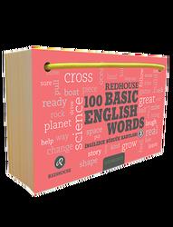Redhouse Yayınevi - Redhouse 100 Basic English Words 3 İngilizce Sözcük Kartları