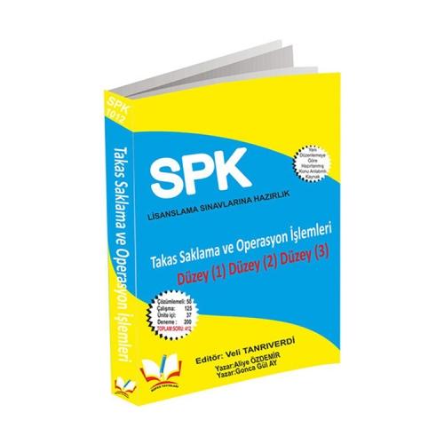 Roper Yayınları SPK Lisanslama 1012 Takas Saklama ve Operasyon İşlemleri Düzey 1-2-3
