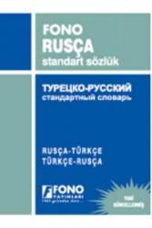 Fono Yayınları - Rusça Standart Sözlük Fono Yayınları