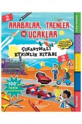 Sabri Ülker Vakfı Yayınları - Sabri Ülker Vakfı Yayınları Arabalar Trenler ve Uçaklar Çıkartmalı Etkinlik Kitabı 2