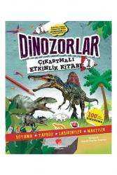 Sabri Ülker Vakfı Yayınları - Sabri Ülker Vakfı Yayınları Dinozorlar Çıkartmalı Etkinlik Kitabı 1