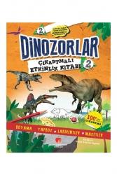 Sabri Ülker Vakfı Yayınları - Sabri Ülker Vakfı Yayınları Dinozorlar Çıkartmalı Etkinlik Kitabı 2