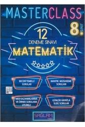Sağlam Test Yayınları - Sağlam Test Yayınları 8. Sınıf Matematik Master Class 12 Deneme Sınavı