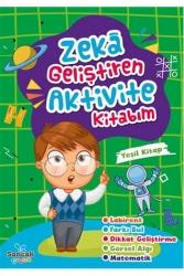 Sancak Yayınları - Sancak Yayınları Zeka Geliştiren Aktivite Kitabım - Yeşil Kitap
