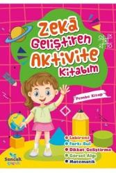 Sancak Yayınları - Sancak Yayınları Zeka Geliştiren Aktvite Kitabım - Pembe Kitap