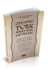 Savaş Yayınevi - Savaş Yayınevi Osmanlı Türk Anayasa Metinleri