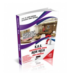 Savaş Yayınevi - Savaş Yayınları 2017 Kaymakamlık Sınavı Açık Uçlu Soru Bankası