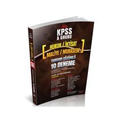 Savaş Yayınevi - Savaş Yayınları 2018 KPSS A Grubu 40 Soruluk Tamamı Çözümlü 10 Deneme Sınavı