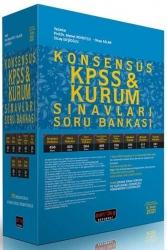 Savaş Yayınevi - Savaş Yayınları 2021 KPSS KONSENSUS Kurum Sınavları Hukuk Soru Bankası