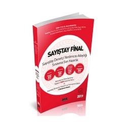 Savaş Yayınevi - Savaş Yayınları 2019 Sayıştay Final Sayıştay Denetçi Yardımcısı Adaylığı Sınavına Son Hazırlık Soru Bankası