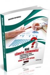 Savaş Yayınevi - Savaş Yayınları 2020 KAS Türkiye Ekonomisi Konu ve Soru Kitabı