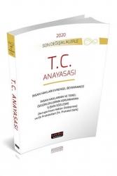 Savaş Yayınevi - Savaş Yayınları 2020 T. C. Anayasası Son Değişikliklerle Kanun Metinleri