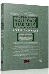 Savaş Yayınevi - Savaş Yayınları 2021 Hakimlik Kampı Adli-İdari Hakimlik Son Tekrar Soru Bankası