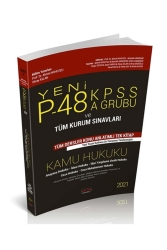 Savaş Yayınevi - Savaş Yayınları 2021 P48 KPSS A Grubu Kamu Hukuku Konu Anlatımlı