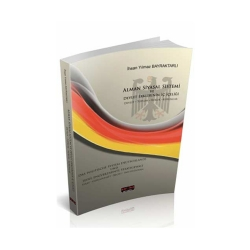 Savaş Yayınevi - Savaş Yayınları Alman Siyasal Sistemi ve Devlet Erklerinin İç İçeliği