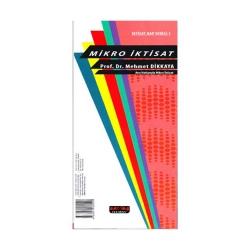 Savaş Yayınevi - Savaş Yayınları Ana Hatlarıyla Mikro İktisat Hap Serisi 1