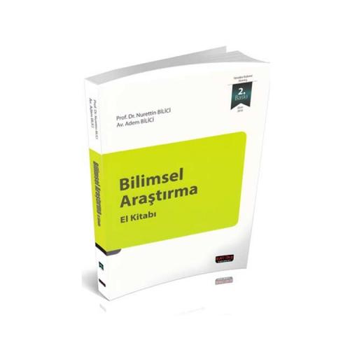 Savaş Yayınları Bilimsel Araştırma El Kitabı
