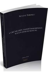 Savaş Yayınevi - Savaş Yayınları Cürümlerin Tasnifi Bakımından Suçun Hukuki Konusu