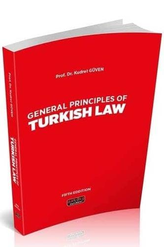 Savaş Yayınları General Principles Of Turkish Law