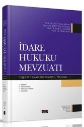 Savaş Yayınevi - Savaş Yayınları 2021 İdare Hukuku Mevzuatı 16. Baskı
