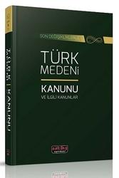 Savaş Yayınevi - Savaş Yayınları Türk Medeni Kanunu ve İlgili Kanunlar