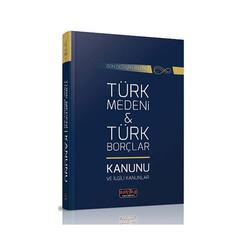 Savaş Yayınevi - Savaş Yayınları Türk Medeni Kanunu ve Türk Borçlar Kanunu ve İlgili Kanunlar