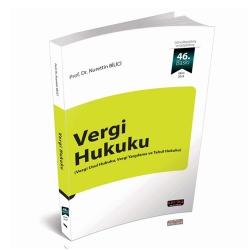 Savaş Yayınevi - Savaş Yayınları Vergi Hukuku Nurettin Bilici 46. Baskı