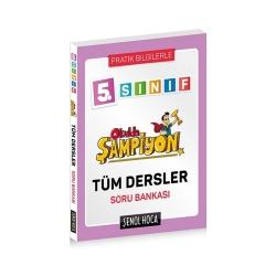 Şenol Hoca Yayınları - Şenol Hoca Yayınları 5. Sınıf Okulda Şampiyon Tüm Dersler Soru Bankası