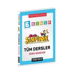 Şenol Hoca Yayınları - Şenol Hoca Yayınları 6. Sınıf Okulda Şampiyon Tüm Dersler Soru Bankası