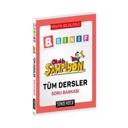 Şenol Hoca Yayınları - Şenol Hoca Yayınları 8. Sınıf Okulda Şampiyon Tüm Dersler Soru Bankası