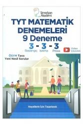 Simedyan Akademi - Simedyan Akademi TYT Matematik 9 Denemeleri