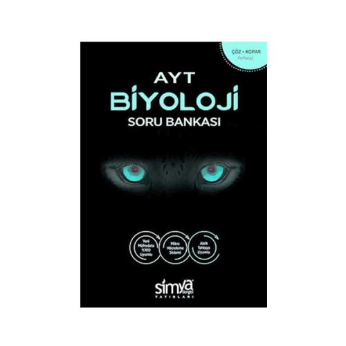 Simya Yayınları AYT Biyoloji Soru Bankası