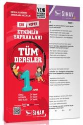Sınav Dergisi Yayınları - Sınav Dergisi Yayınları 1. Sınıf Tüm Dersler Yaprak Test