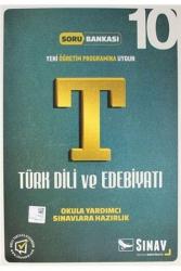 Sınav Dergisi Yayınları - Sınav Dergisi Yayınları 10. Sınıf Türk Dili ve Edebiyatı Soru Bankası