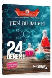 Sınav Dergisi Yayınları - Sınav Dergisi Yayınları 8. Sınıf LGS Fen Bilimleri 24 Ayar Deneme