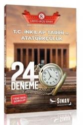 Sınav Dergisi Yayınları - Sınav Dergisi Yayınları 8. Sınıf LGS TC İnkılap Tarihi ve Atatürkçülük 24 Deneme Sınavı