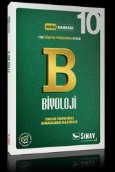 Sınav Dergisi Yayınları - Sınav Yayınları 10. Sınıf Biyoloji Soru Bankası