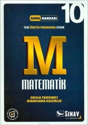 Sınav Dergisi Yayınları - Sınav Yayınları 10. Sınıf Matematik Soru Bankası