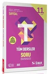 Sınav Dergisi Yayınları - Sınav Yayınları 11. Sınıf Tüm Dersler Sayısal Soru Bankası