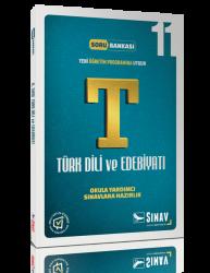 Sınav Dergisi Yayınları - Sınav Yayınları 11. Sınıf Türk Dili ve Edebiyatı Soru Bankası